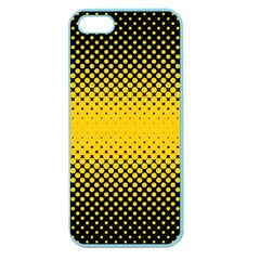 Dot Halftone Pattern Vector Apple Seamless Iphone 5 Case (color)