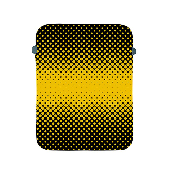 Dot Halftone Pattern Vector Apple iPad 2/3/4 Protective Soft Cases