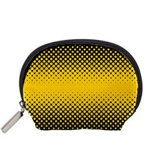 Dot Halftone Pattern Vector Accessory Pouch (small)