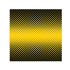 Dot Halftone Pattern Vector Small Satin Scarf (square)