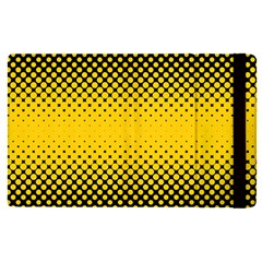 Dot Halftone Pattern Vector Apple Ipad Pro 12 9   Flip Case