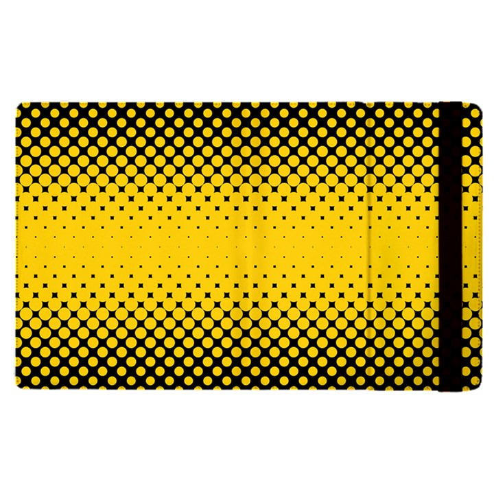 Dot Halftone Pattern Vector Apple iPad Pro 12.9   Flip Case