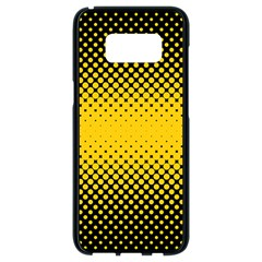 Dot Halftone Pattern Vector Samsung Galaxy S8 Black Seamless Case
