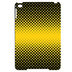 Dot Halftone Pattern Vector Apple Ipad Mini 4 Black Frosting Case