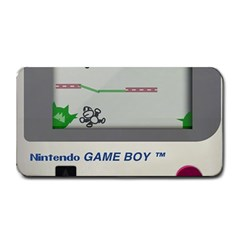 Game Boy White Medium Bar Mats by Sudhe