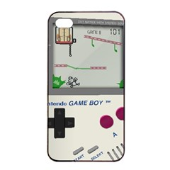 Game Boy White Iphone 4/4s Seamless Case (black)
