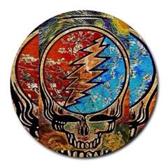 Grateful Dead Rock Band Round Mousepads