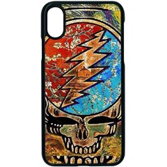 Grateful Dead Rock Band Iphone Xs Seamless Case (black)