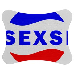 Sexsi Sexy Logo Jigsaw Puzzle Photo Stand (bow)