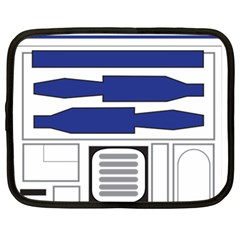 R2 Series Astromech Droid Netbook Case (large)