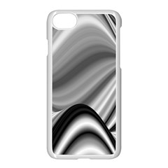Waves Black And White Modern Iphone 8 Seamless Case (white)