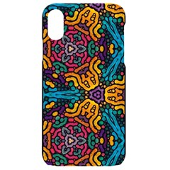 Grubby Colors Kaleidoscope Pattern Iphone Xr Black Frosting Case