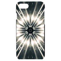 Abstract Fractal Pattern Lines Iphone 7/8 Black Frosting Case by Pakrebo