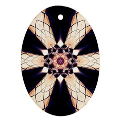 Digital Art Art Artwork Abstract Oval Ornament (two Sides)
