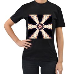 Digital Art Art Artwork Abstract Women s T Shirt (black)