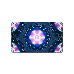 Abstract Fractal Pattern Colorful Magnet (name Card)
