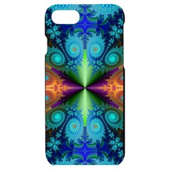 Fractal Fractal Background Design Iphone 7/8 Black Frosting Case