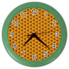 Digital Art Art Artwork Abstract Color Wall Clock