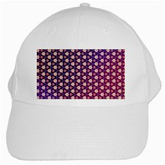 Texture Background Pattern White Cap
