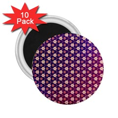 Texture Background Pattern 2 25  Magnets (10 Pack)
