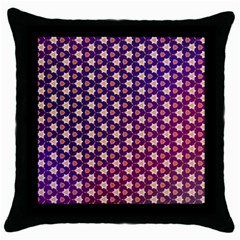Texture Background Pattern Throw Pillow Case (black)