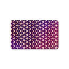 Texture Background Pattern Magnet (name Card)