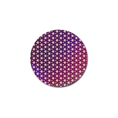 Texture Background Pattern Golf Ball Marker (4 Pack)