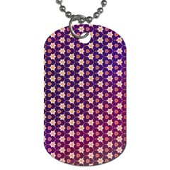 Texture Background Pattern Dog Tag (two Sides)