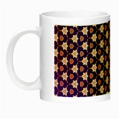 Texture Background Pattern Night Luminous Mugs