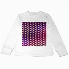 Texture Background Pattern Kids Long Sleeve T Shirts