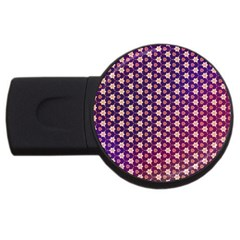 Texture Background Pattern Usb Flash Drive Round (4 Gb)
