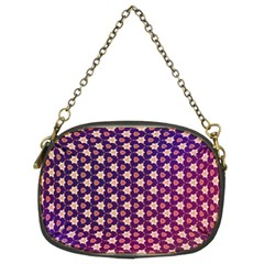Texture Background Pattern Chain Purse (two Sides)