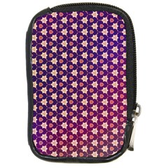 Texture Background Pattern Compact Camera Leather Case
