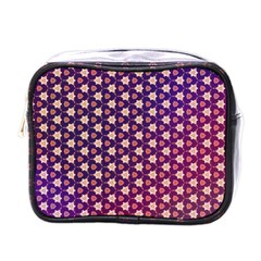 Texture Background Pattern Mini Toiletries Bag (one Side)
