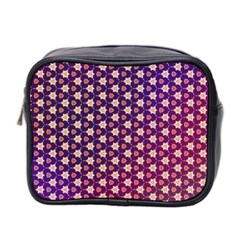 Texture Background Pattern Mini Toiletries Bag (two Sides)