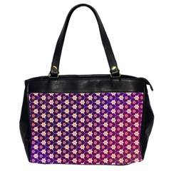 Texture Background Pattern Oversize Office Handbag (2 Sides)