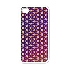 Texture Background Pattern Iphone 4 Case (white)