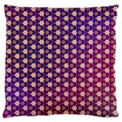 Texture Background Pattern Large Cushion Case (one Side)