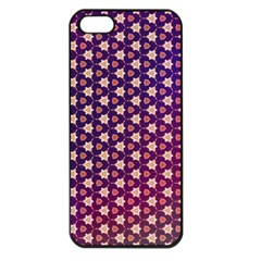 Texture Background Pattern Iphone 5 Seamless Case (black)