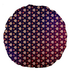 Texture Background Pattern Large 18  Premium Round Cushions