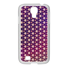 Texture Background Pattern Samsung Galaxy S4 I9500/ I9505 Case (white)
