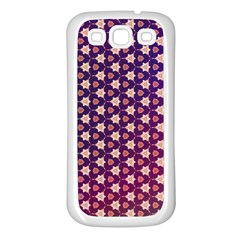 Texture Background Pattern Samsung Galaxy S3 Back Case (white)