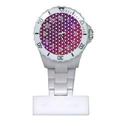Texture Background Pattern Plastic Nurses Watch