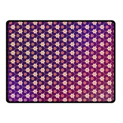 Texture Background Pattern Double Sided Fleece Blanket (small)