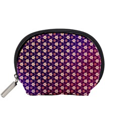 Texture Background Pattern Accessory Pouch (small)
