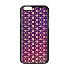 Texture Background Pattern Iphone 6/6s Black Enamel Case