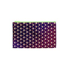 Texture Background Pattern Cosmetic Bag (xs)