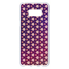 Texture Background Pattern Samsung Galaxy S8 Plus White Seamless Case