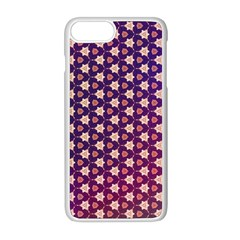Texture Background Pattern Iphone 8 Plus Seamless Case (white)