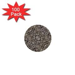 Cyber Punk Pattern Design 1  Mini Buttons (100 Pack)